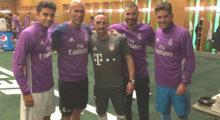 Zinedine Zidane Enzo Luca Karim Benzema Franck Ribery RealBayern