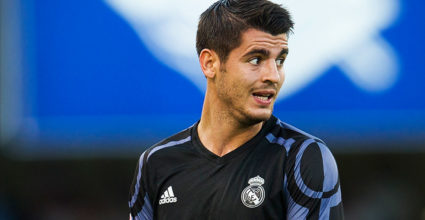 Álvaro Morata Real Madrid