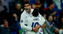 Álvaro Morata Real Madrid Champions League Sporting Lissabon