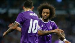 James Rodríguez Marcelo Real Madrid