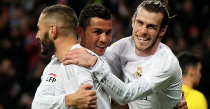Karim Benzema Cristiano Ronaldo Gareth Bale