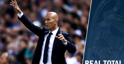 real total kommentar zidane