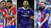 Karim Benzema Lionel Messi Atlético Real Madrid FC Barcelona