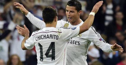 Javier Chicharito Hernández Cristiano Ronaldo