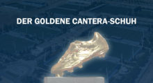 real total goldener cantera-schuh
