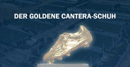 real total goldener cantera-schuh