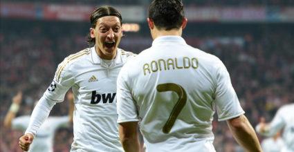 Mesut Özil Cristiano Ronaldo