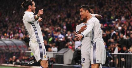 Cristiano Ronaldo Real Madrid Atlético