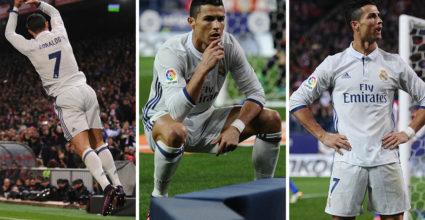 Cristiano Ronaldo Real Madrid Atlético La Liga