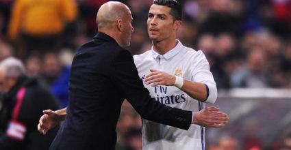 Cristiano Ronaldo Zinédine Zidane