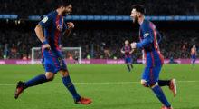 Luis Suárez Lionel Messi