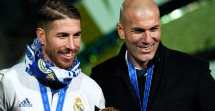Sergio Ramos Zinédine Zidane