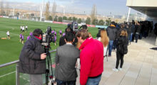 real madrid training clasico presse