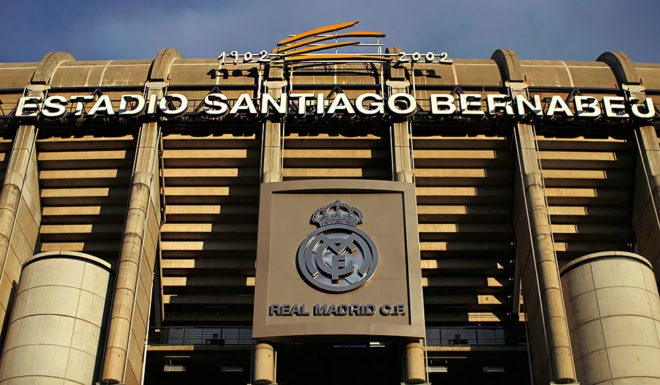MADRID, SPAIN - NOVEMBER 04:  A general view prior to the UEFA Champions League Group B match between Real Madrid CF and Liverpool FC at Estadio Santiago Bernabeu on November 4, 2014 in Madrid, Spain.  (Photo by Gonzalo Arroyo Moreno/Getty Images)