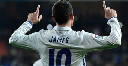 James Rodríguez Real Madrid