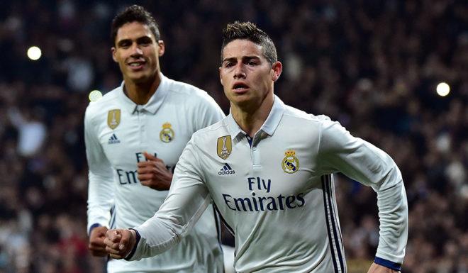 James Rodríguez Real Madrid