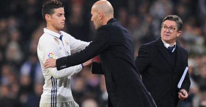 James Rodríguez Zinédine Zidane