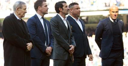 Luis Figo Ronaldo Zinédine Zidane Michael Owen Raymond Kopa