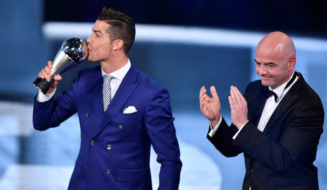 Cristiano Ronaldo FIFA Gala