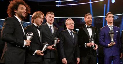 Ronaldo Ramos Kroos Marcelo Modric