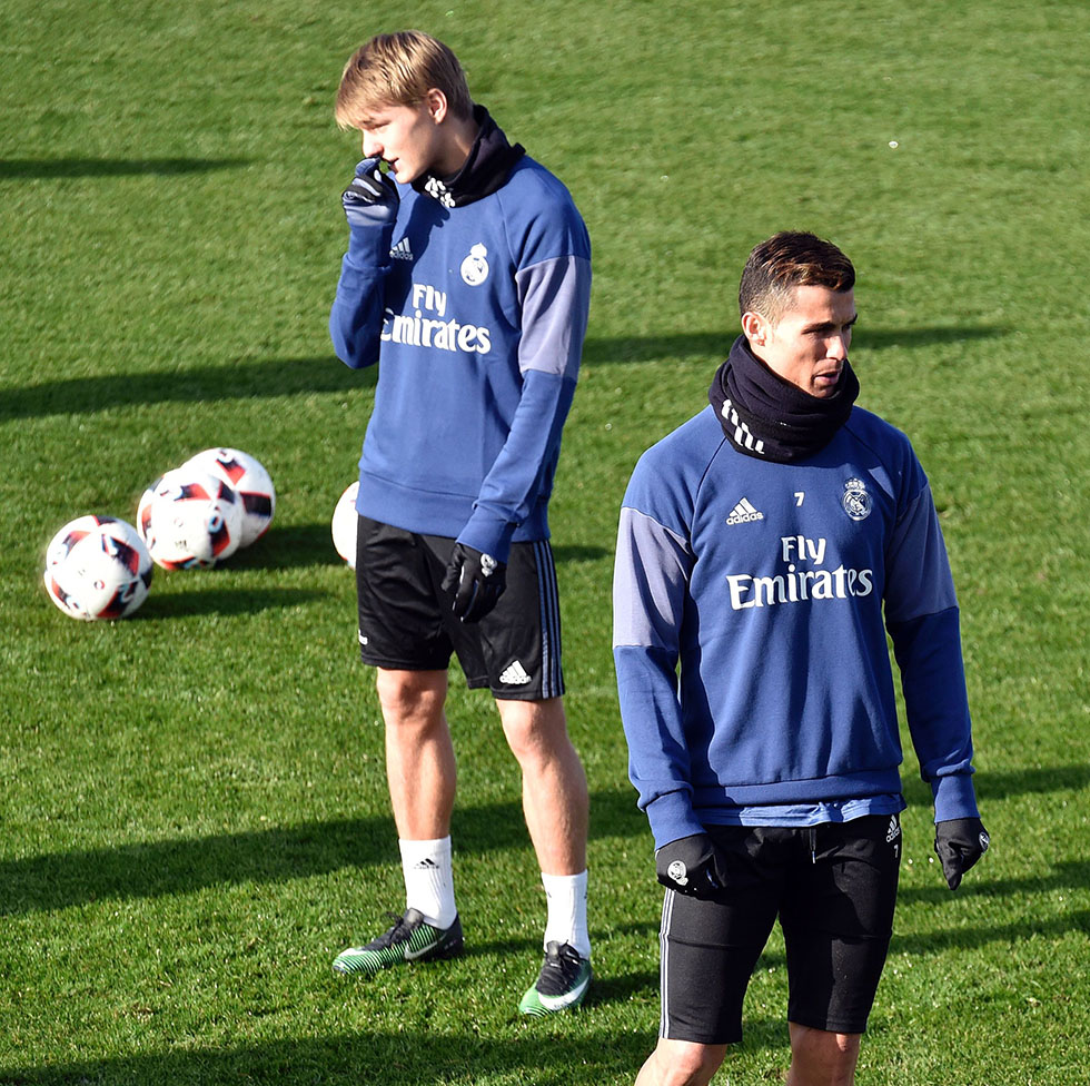 Martin Odegaard Cristiano Ronaldo