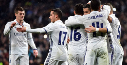 Real Madrid Jubel LaLiga