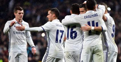 Real Madrid Jubel LaLiga