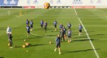 Cristiano Presse Training