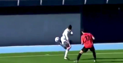 theo zidane fernandze trick