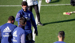training real madrid isco