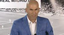 Zidanes etwas andere Präsentation