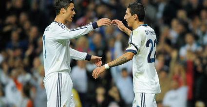 Cristiano Ronaldo Ángel Di María