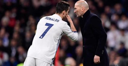 Zinédine Zidane Cristiano Ronaldo