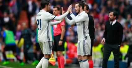 Gareth Bale Álvaro Morata
