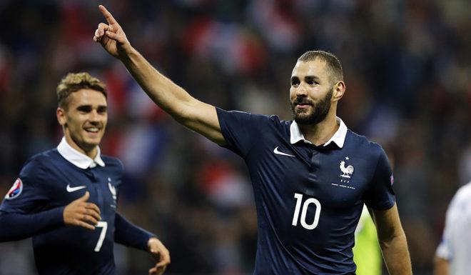 Karim Benzema Frankreich