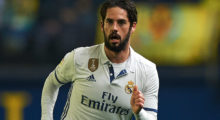 VILLARREAL, SPAIN - FEBRUARY 26:  Isco of Real Madrid in action during the La Liga match between Villarreal CF and Real Madrid at Estadio de la Ceramica on February 26, 2017 in Villarreal, Spain.  (Photo by Fotopress/Getty Images)