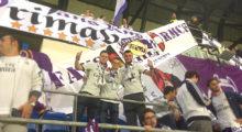 grada fans rmcf alemania austria bernabeu banner