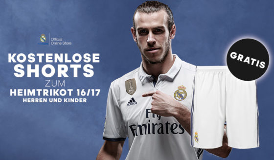 gratis hose real madrid heim trikot home