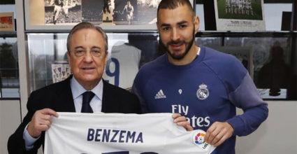 Karim Benzema Florentino Pérez