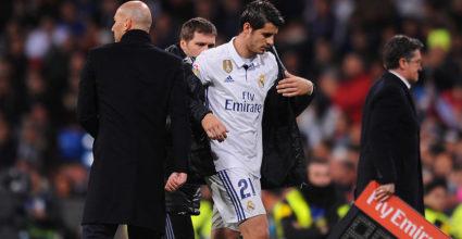 Álvaro Morata Zinédine Zidane