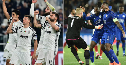Juventus Turin Leicester City UEFA Champions League