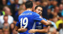 Eden Hazard Diego Costa
