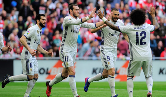 Karim Benzema Gareth Bale Marcelo