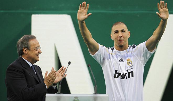 Florentino Pérez Karim Benzema Real Madrid