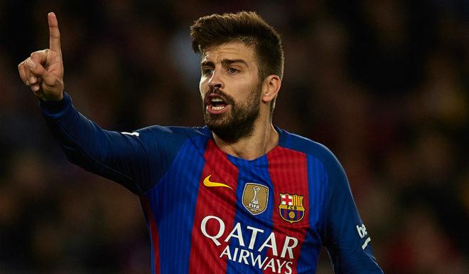 Gerard Pique FC Barcelona