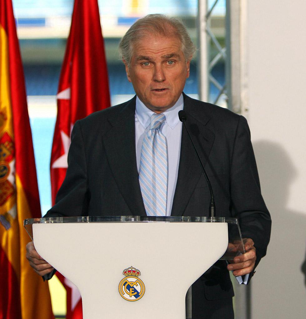 Ramon Calderon Real Madrid