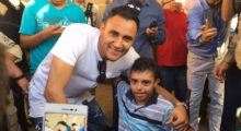 Keylor Navas und ein Fan