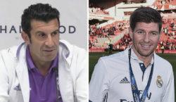 Luis Figo Steven Gerrard Real