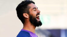 Real Madrid's Spanish midfielder Isco (R) reacts during a training session on August 8, 2016 at the Lerkendal Stadion in Trondheim, on the eve of the UEFA Super Cup final football match between Real Madrid CF and Sevilla FC. / AFP / JONATHAN NACKSTRAND        (Photo credit should read JONATHAN NACKSTRAND/AFP/Getty Images)
