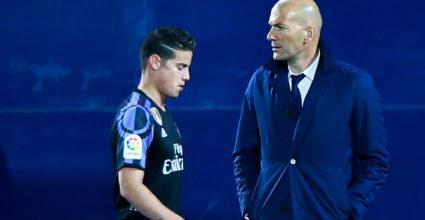 Zinédine Zidane James Rodríguez